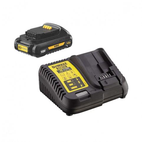 Зарядное устройство DeWALT DCB115 с аккумулятором DCB187