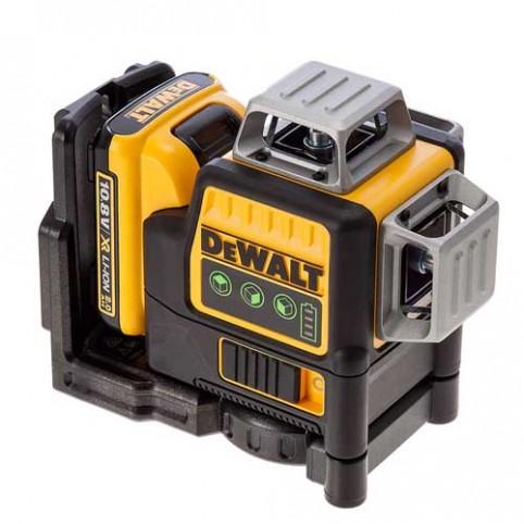 Лазерный нивелир самовыравнивающийся 3-х плоскостной DeWALT DCE089D1G