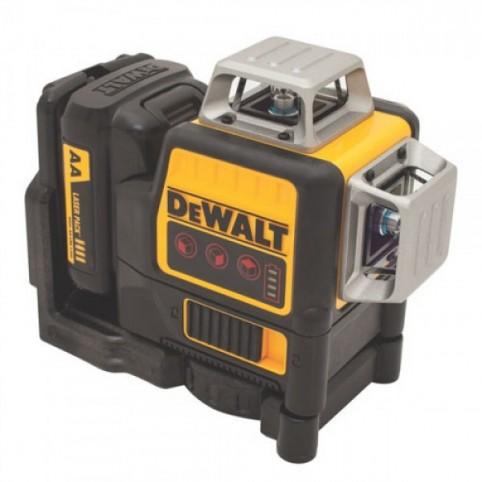 Лазерный нивелир самовыравнивающийся 3-х плоскостной DeWALT DCE089D1R