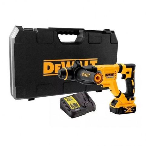 Аккумуляторный бесщеточный перфоратор SDS-Plus DeWALT DCH263P1