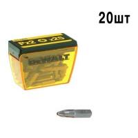 Набор бит Pz2 25 мм DeWALT DP40