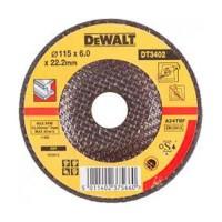 Круг шлифовальный по металлу 115мм DeWALT DT3402-QZ