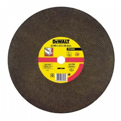 Круг отрезной по металлу 230x3.0x22.2мм DeWALT DT3430-QZ