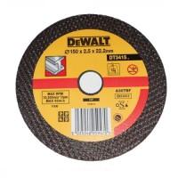 Круг отрезной по металлу 150x2.8x22.2мм DeWALT DT3415-QZ
