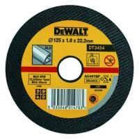 Круг отрезной по алюминию 125х22.2х2.5мм DeWALT DT3454-QZ