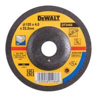 Шлифкруг по металлу вогнутый INOX 125х22,2х4,0мм DeWALT DT3468-QZ
