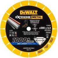 Диск алмазный по металлу диаметром 355 мм DeWALT DT40257