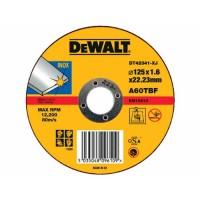 Круг отрезной по металлу DeWALT DT42341