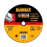 Круг отрезной по металлу 230x22.2х1.9мм DeWALT DT43600