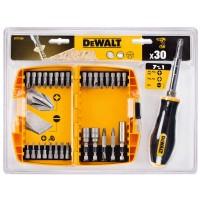 Набор бит и насадок с отверточным держателем DeWALT DT71506