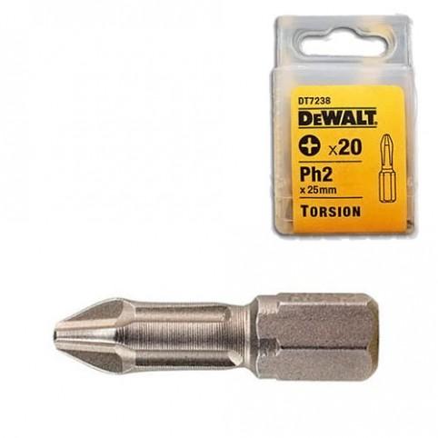 Набор бит торсионных Ph2 DeWALT DT72382