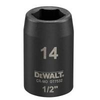 Головка торцевая ударная короткая IMPACT DeWALT DT7532