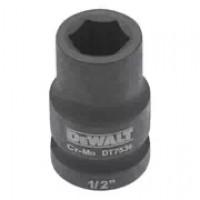 Головка торцевая ударная короткая IMPACT DeWALT DT7535