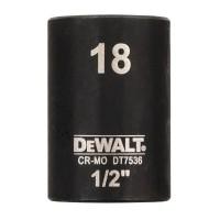 Головка торцевая ударная короткая IMPACT DeWALT DT7536