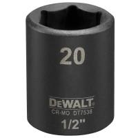 Головка торцевая ударная короткая IMPACT DeWALT DT7538