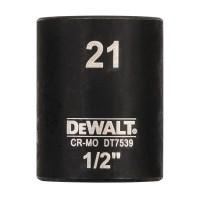 Головка торцевая ударная короткая IMPACT DeWALT DT7539