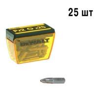 Набор бит Pz2 25мм DeWALT DT7908