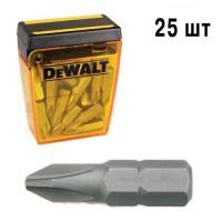 Набор бит Ph2 25мм DeWALT DT7909