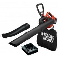 Воздуходувка пылесос аккумуляторный с измельчителем BLACK+DECKER GWC3600L20