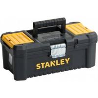 Ящик ?ESSENTIAL? пластиковый с металлическими защелками, размер 316x156x128 мм (12.5?) STANLEY STST1-75515